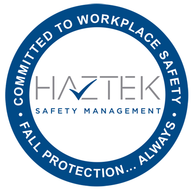 HazTek Stand Down sticker