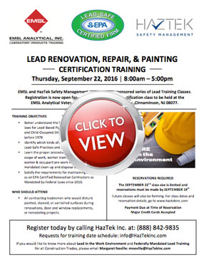 lead reno repair painting cert